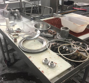 Cleaning and Sanitation of Food Preparation Equipment